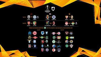 ¡Inicia la Europa League 2018! Conoce la agenda del día de los partidos