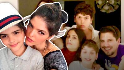 Ana Bárbara celebra en familia el cumpleaños de Chemita (y los hijos de Mariana Levy no faltaron)