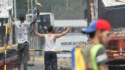 Nuevos enfrentamientos en la frontera entre Colombia y Venezuela