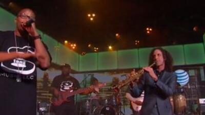 Warren G & Kenny G on Jimmy Kimmel