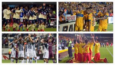 Quedaron listos los horarios de las semifinales del Apertura 2017