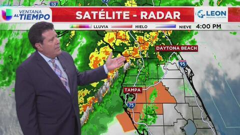 Ventana al Tiempo: Posibilidad de chubascos y tormentas este fin de semana en Miami
