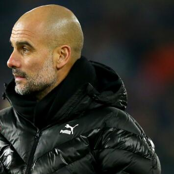 """Guardiola, sarcástico: """"La carrera por el título se acabó"""""""