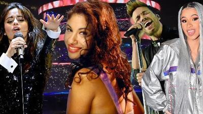 En menos de dos semanas, Camila Cabello, Cardi B y Prince Royce le rinden tributo a Selena en el mismo escenario