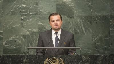 Leonardo DiCaprio y su discurso en la ONU por el cambio climático