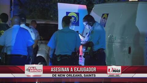 Asesinan a ex jugador de Saints de New Orleans