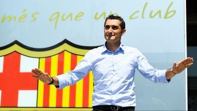 """Valverde sobre Messi: """"Espero ayudarle a mejorar, si es que tiene algo que mejorar"""""""