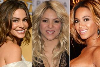 Shakira y Sofía entre las más poderosas