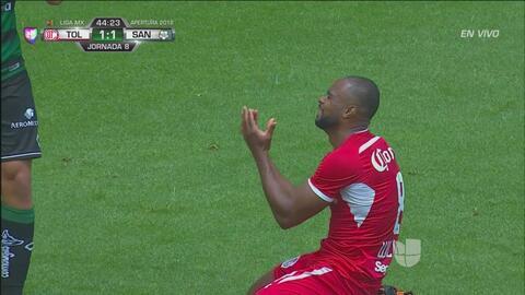 ¡De que manera tan terrible Da Silva desperdició para el doblete!
