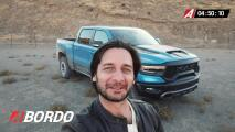 5 Minutos A Bordo del Ram 1500 TRX 2021 | Univision A Bordo