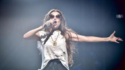 Thalía hace vibrar Premio Lo Nuestro ya en los ensayos: la mexicana llegó, cantó e hizo algunas confesiones