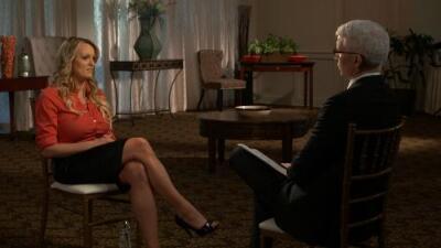 La actriz porno Stormy Daniels asegura que fue amenazada para que no hablara sobre su relación con Donald Trump