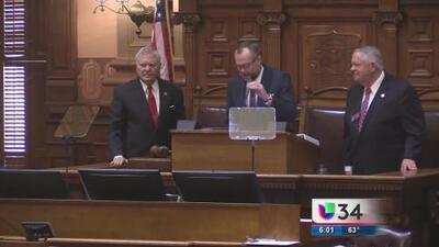 Nathan Deal presentó presupuesto anual de Georgia