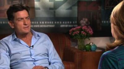 La historia de Charlie Sheen en Aquí y Ahora