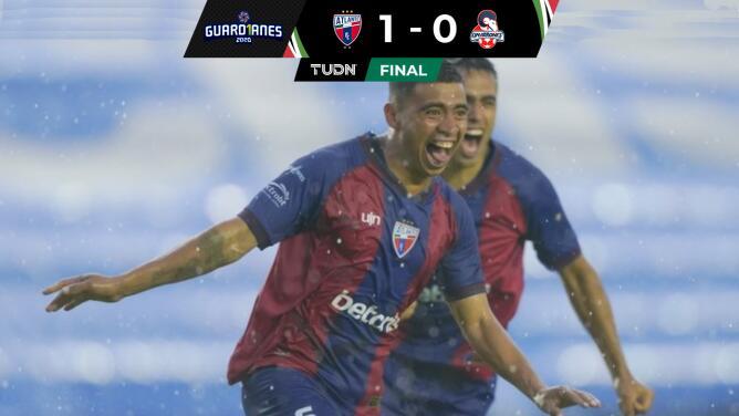 Resumen | Primer gol y primera victoria de Atlante en la temporada con un 1-0 ante Cimarrones