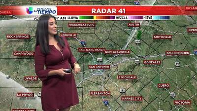 San Antonio permanece con temperaturas frescas
