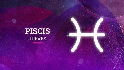 Piscis – Jueves 19 de abril del 2018: vivirás muy pronto una etapa diferente