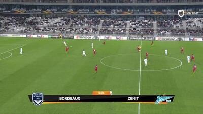 Highlights: Zenit St Petersburg at Bordeaux on November 8, 2018