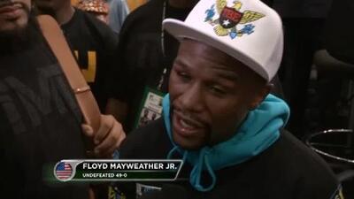 "Mayweather: ""Ahora todos extrañan a Floyd Mayweather"""