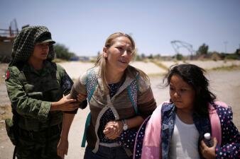 La Guardia Nacional mexicana es desplegada en la frontera con EEUU (fotos)