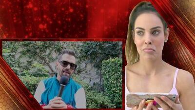 Mira cómo reaccionó Sara Corrales cuando supo que Mike Bahía pidió votar por ella