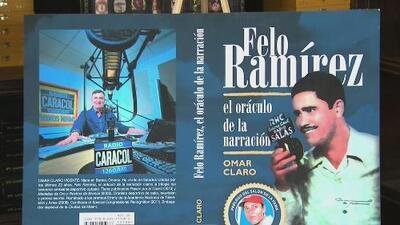 El periodista cubano Omar Claro presenta su libro 'Felo Ramírez, el oráculo de la narración'