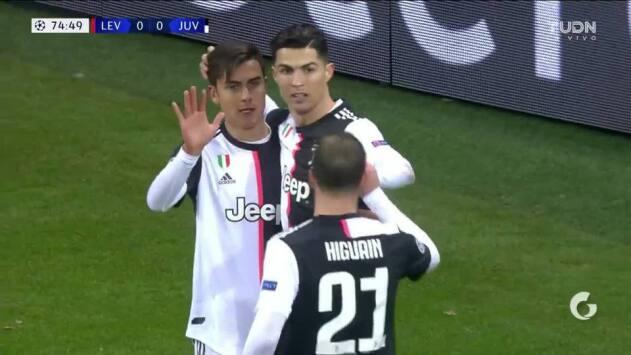 ¡GOOOL! Cristiano Ronaldo anota para Juventus