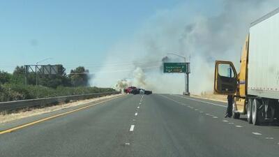 Incendios de maleza han provocado daños en Galt