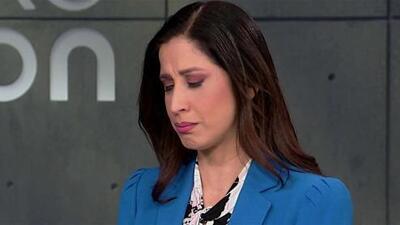 Tras reportar la agresión a Jorge Ramos, Elyangélica González lloró al recordar que tuvo que abandonar Venezuela