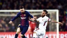 De Rossi defiende a Messi de las criticas de aficionados argentinos