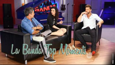 Los jueces de La Banda recordaron sus best moments