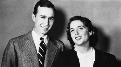 Fotos: George y Barbara Bush, unidos para siempre