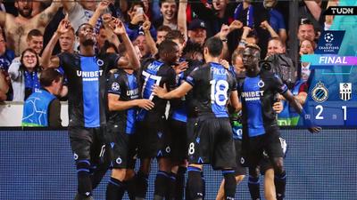 Brujas sufre poco pero avanza en la Champions League