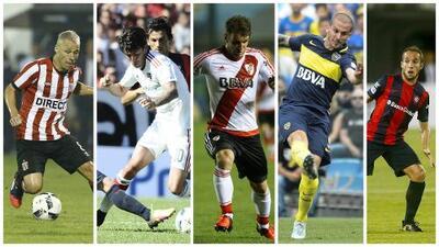 Cinco jugadores que no la rompieron en la Liga MX y ahora la rompen en Argentina