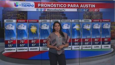 Frente frío traerá una drástica baja de temperatura en Austin