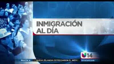 Inmigración al día: Cambio a la ley del perdón