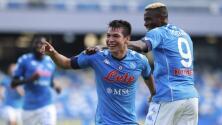 El 'Chucky' va de titular con el Napoli en la Europa League