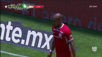 ¡GOOOL! Jonatan Maidana anota para Toluca
