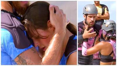 Yann y Ella debutaron como pareja y perdieron: 'Lolo ' y Silverio los derrotaron en su pista favorita
