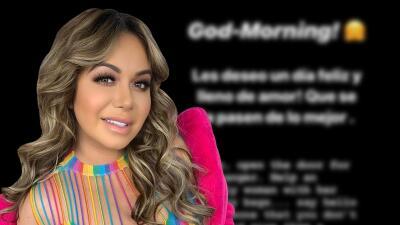 El mensaje de Chiquis Rivera para comenzar el día, horas antes de su boda