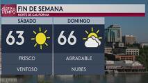 Sacramento tendrá condiciones agradables para este fin de semana
