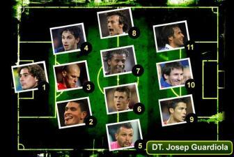 El Once ideal del fútbol de Europa