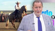 Ezequiel Peña retoma su gira de conciertos con show de caballos, pero sin 'Raúl de Molina Jr.'
