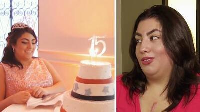 A ella le daban poca esperanza de vida, pero gracias a un milagro celebró su fiesta de quinceañera