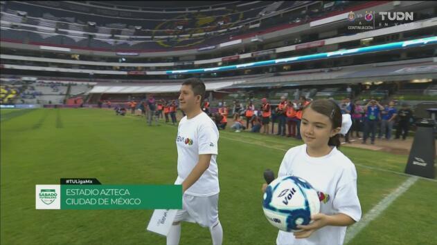 Así fue el protocolo inicial del Cruz Azul vs Atlético de San Luis