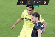 Real Madrid no pudo como visitante con el Villarreal