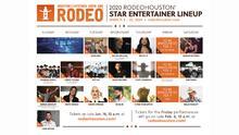 Dan a conocer la lista de artistas participantes en el Rodeo Houston