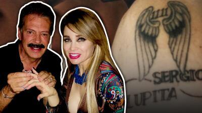 Sergio Goyri aún no se divorcia pero ya tiene anillo de compromiso y tatuaje para casarse por tercera vez