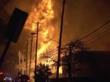 Un fuerte incendio destruye 4 unidades de apartamentos al este de Dallas