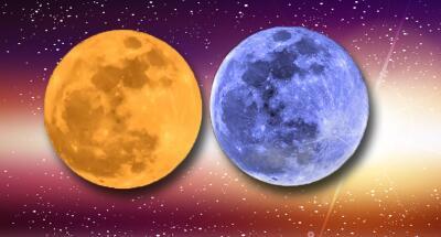 La superluna azul se teñirá de rojo durante el eclipse